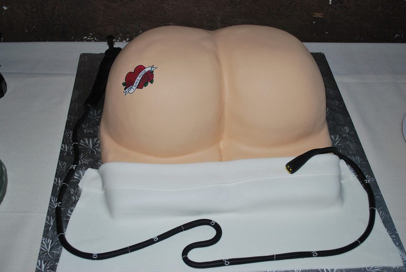 Dave's birthday cake.