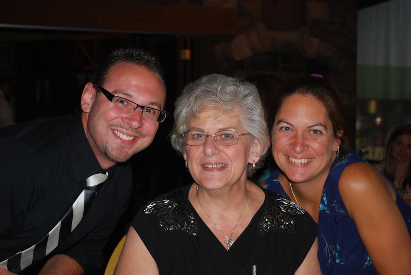 Dan, Mom and Deb