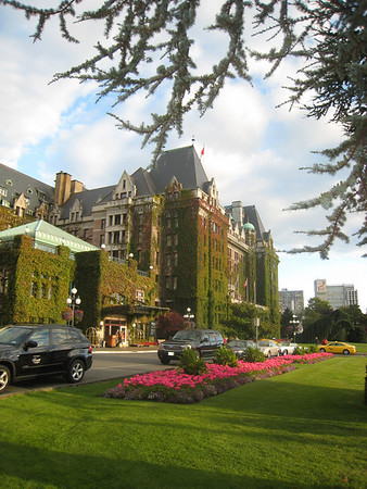 40th Wedding Anniversary Trip, August 2010: The Empress Hotel, Victoria, BC and The Wickaninnish Inn, Tofino, BC