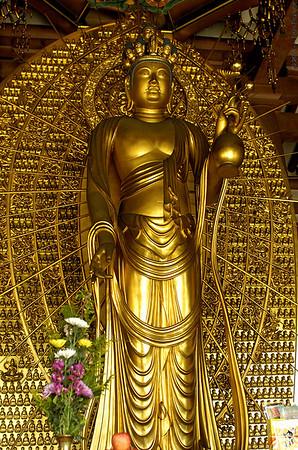 shitennoji temple buddha