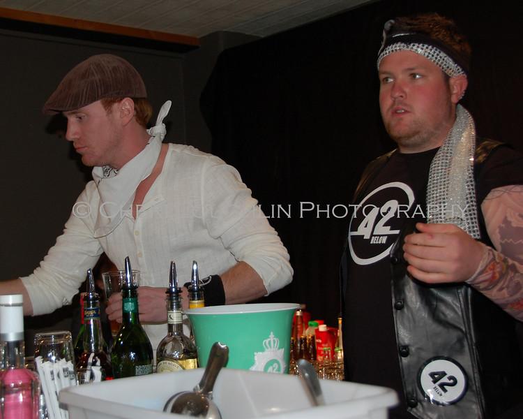 Mark Stoddard USA and James Goggin New Zealand