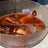 Punch with Flowers Garnish