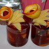 Punch Cocktail with Garnish