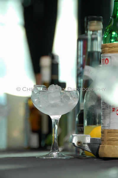 Lone Iced Glass