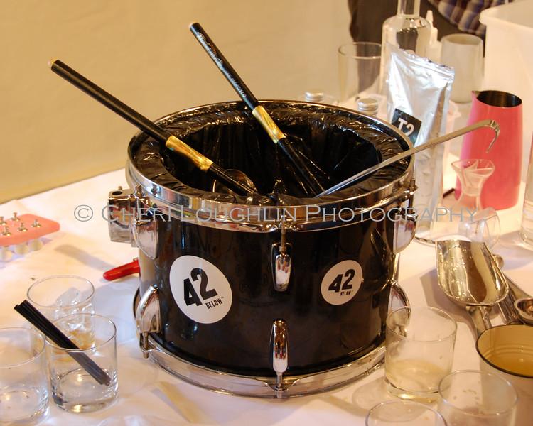 Drum Punch Bowl