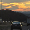 Back on the road again...on I-80 West of Wilkes-Barre, Pennsylvania.