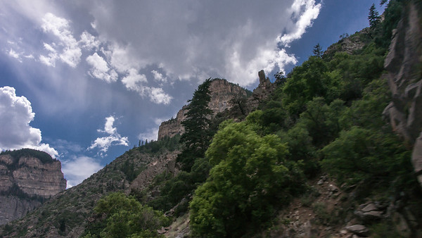 Glenwood Canyon ~ Again, taken from car, but wanted to capture some of its grandeur