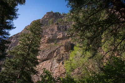 """Hanging Lake, Spouting Rock....the """"hike"""" up 1020 feet over rocky terrain, but beautiful."""