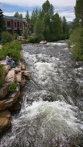 Breckenridge - Mountain Stream Flowing Through Town