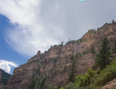 Glenwood Canyon - Taken from Car (no pull offs)