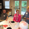 """""""Coach"""" Paul Sherman 74, Sue Anne Wrenn, Sandra Denton"""