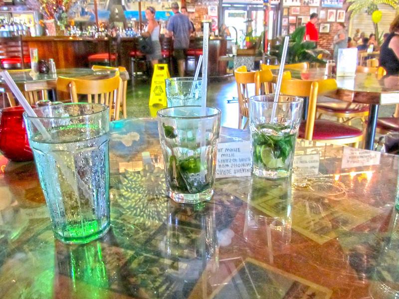 Drinks, Key West, Fl  Copyright Sue Steinbrook June 2012