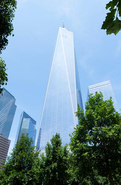 9/11 Museum & Memorial, July, 2014