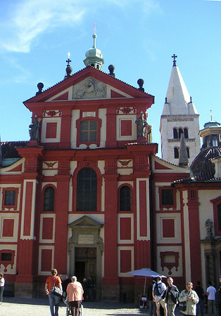 St. George's Basilica is the oldest church building within the Prague Castle complex. It is also the best-preserved Romanesque church in Prague. St. George's Basilica now serves as a concert hall.
