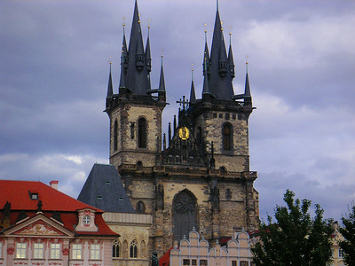 This Gothic cathedral is the spiritual symbol of the Czech state. The cathedral contains underground tombs of Czech kings.  The chapel is decorated with frescoes and semi-precious stones.   It looks like something straight out of The Wizard of Oz.  The WIcked Witch of the West would love it.