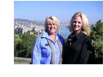 Barb & Brooke in Budapest
