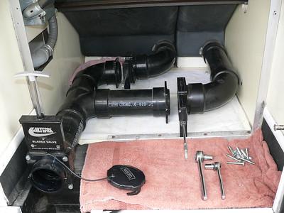 Replaced original dump valves, added 3rd valve.