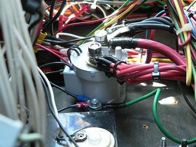 New Blue Sea Systems ignition solenoid.