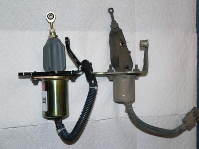 New fuel pull-off solenoid.