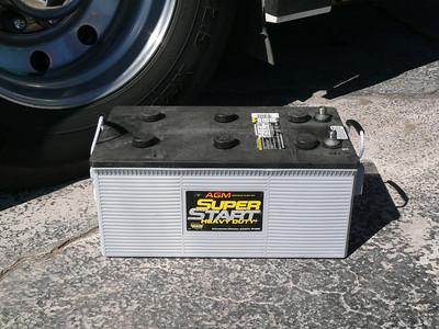 New AGM 8D batteries (2)