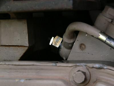Tork Tek adjustable overflow valve.
