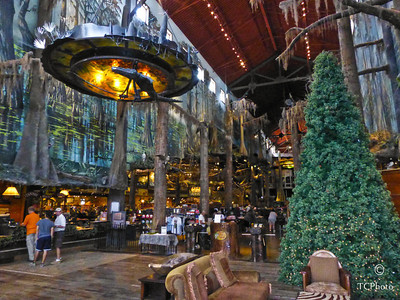 A trip to Denham Springs, LA is always in order just to see what is going on at Bass Pro Shops. Here in late Oct you see preparations being done for Christmas 2012. Wow, what a store!