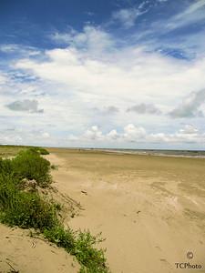 The beach at Grand Isle