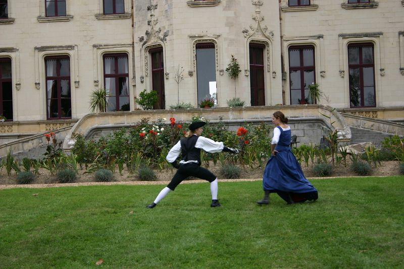 Twice a year there are Plays at the Castle