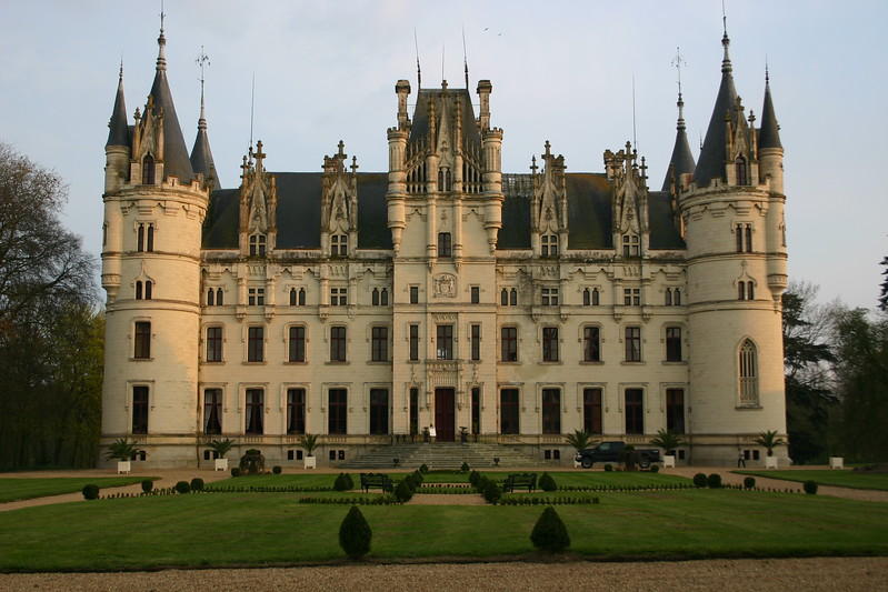 The Castle Chateau Challain the Chambord of Anjou