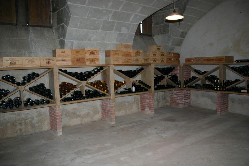 1 of the three wine cellars