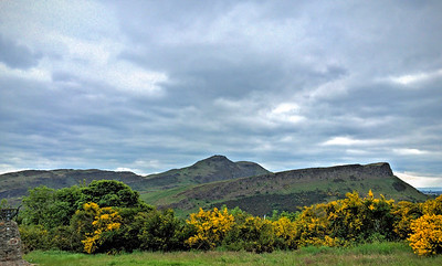 Arthur's Seat & the Salisbury Crags from Calton Hill