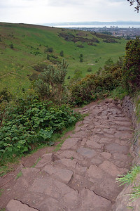 More of the rock path.