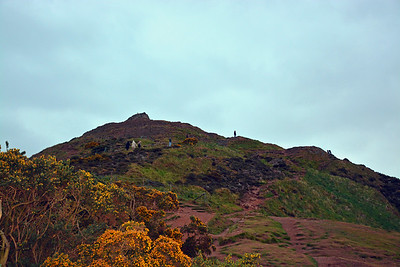 """The """"back"""" way down from Arthur's Seat"""