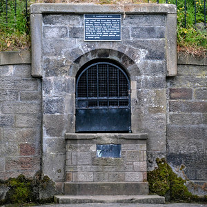 St Margaret's Well, one of the two natural springs in the park.