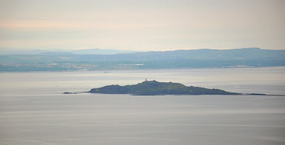 Inchkeith - an island in the Firth of Forth.