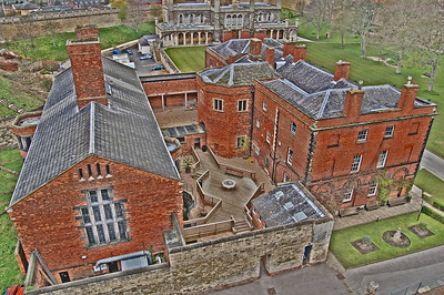 The Old Prison from the Observatory Tower. The building in the background is the current Crown Court. Justice has been dispensed on this exact site for almost 1000 years, not many places in the world can say that!