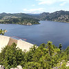 A handfull of fishermen had a quiet day at Gross Reservoir on Wednesday.<br /> Cliff Grassmick / July 6, 2011