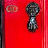 A Stunning Red Door  - Number 11 in Saffron Walden, England