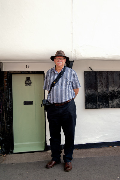 A Little Door  and the  Big Man