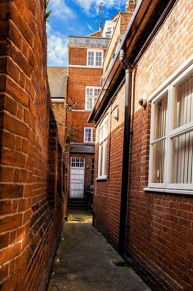 Between the Brick Walls