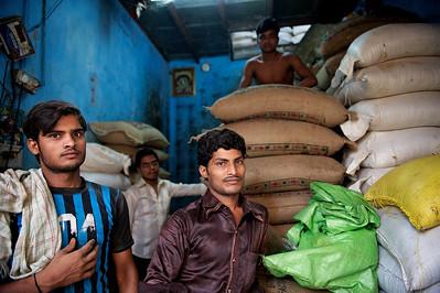 Flour millers, Dharavi.