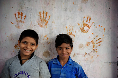 Kids, Dharavi.