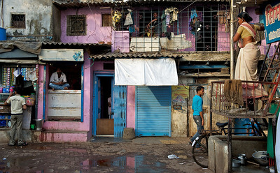 Street life, Dharavi.