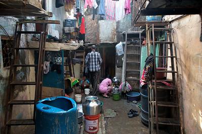 Dharavi street life.