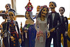 """Day of the Dead"" figurines."
