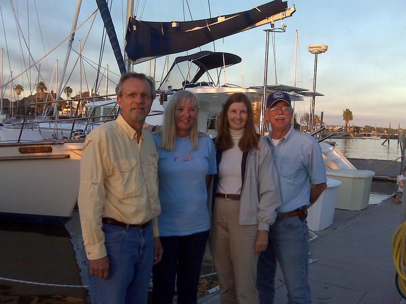 Doc John, Peggy, Anne & STA
