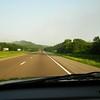 Rolling down I-40 outside of Nashville