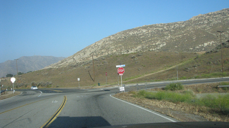 May 19,2012<br /> Heading to San Bernadino through Reche Canyon to pick up my friend Doug and his Dad, Ken.