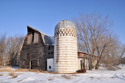 Old Home and Barn