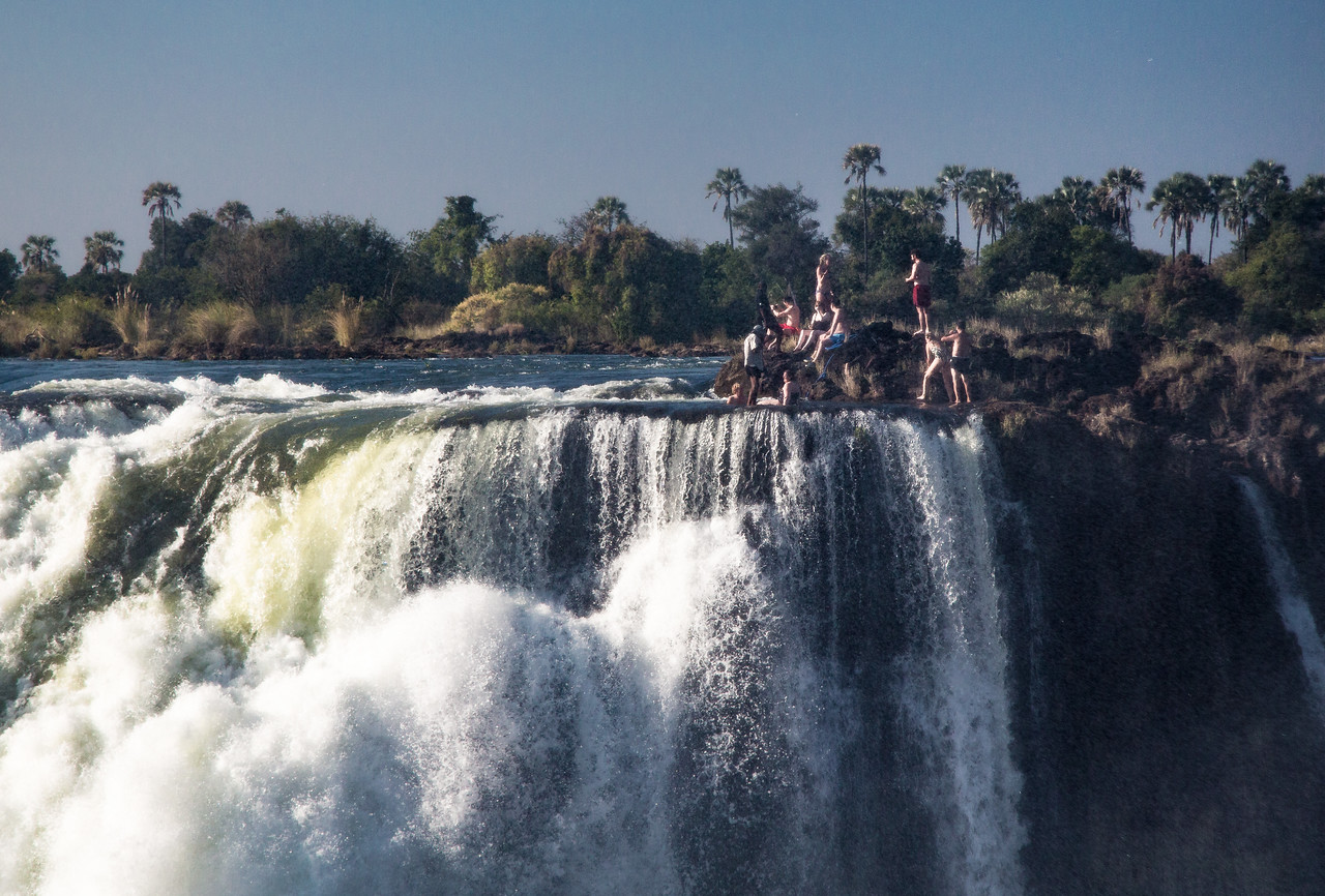 Victoria Falls Swimming Hole